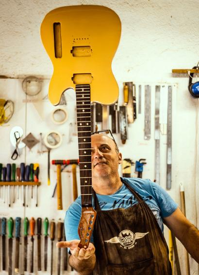 Construindo uma Guitarra Custom